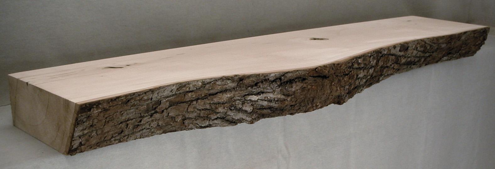 Log Style Fireplace Mantels Hardwood Hartford WI